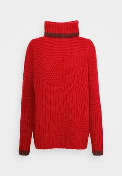 Marc Cain - Strickpullover - cranberry