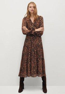 Mango - OSLO - Korte jurk - marrón