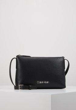 Calvin Klein - NEAT CROSSBODY - Sac bandoulière - black