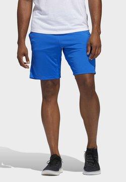 adidas Performance - 3-STRIPES 9-INCH SHORTS - kurze Sporthose - blue