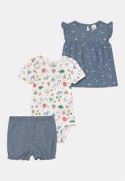 Carter's - CHAMBRAY FLORAL SET - Camiseta estampada - blue