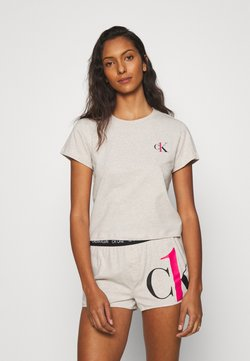 Calvin Klein Underwear - SLEEP PRIDE - Pyjama - buff heather