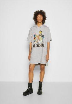 MOSCHINO - SESAME STREET DRESS - Vestito estivo - grey