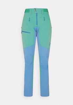 Norrøna - FALKETIND FLEX HEAVY DUTY PANTS - Trousers - arcadia/campanula