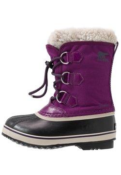 Sorel - YOOT PAC - Snowboot/Winterstiefel - wild iris/dark plum