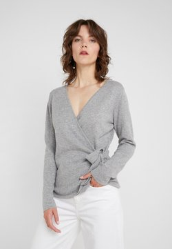 Davida Cashmere - WRAP - Kofta - light grey