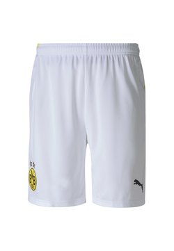 Puma - BVB BORUSSIA DORTMUND REPLICA - kurze Sporthose - white
