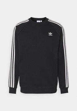 adidas Originals - 3 STRIPES CREW UNISEX - Sweatshirt - black