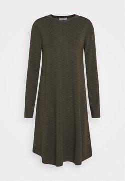 Repeat - DRESS - Vestido de punto - khaki