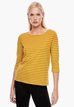 s.Oliver - Langarmshirt - yellow stripes