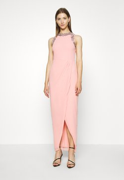 Lace & Beads - DUNIA WRAP MAXI - Ballkleid - taffy pink