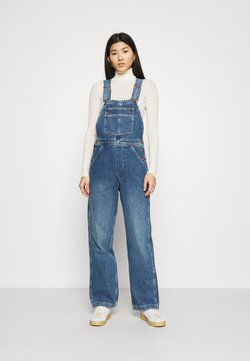 Wrangler - STRAIGHT BIB - Dungarees - all star blue