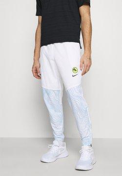 Nike Performance - ESSENTIAL THERMA PANT EKIDEN - Jogginghose - white/black