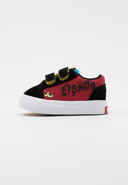 Vans - THE SIMPSONS OLD SKOOL - Trainers - dark red/multicolor