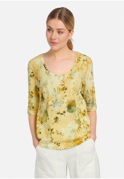 MARGITTES - T-Shirt print - gelb