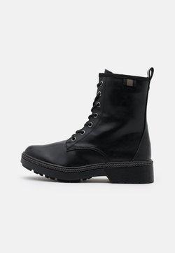 Tamaris - BOOTS - Nauhalliset nilkkurit - black