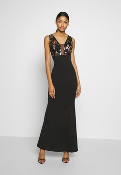 WAL G. - FLORAL MAXI DRESS - Ballkleid - black