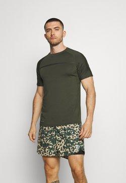 Endurance - SERZO TEE - T-Shirt print - rosin