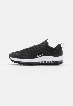 Nike Golf - AIR MAX 97  - Obuwie do golfa - black/white