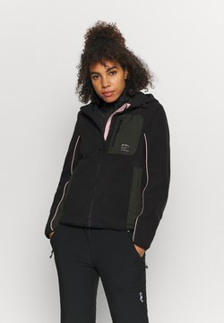 Superdry - FREESTYLE TECH - Fleece jacket - black