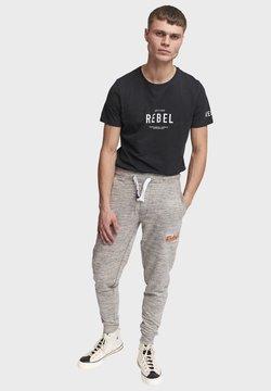 Redefined Rebel - PATRICK - Jogginghose - mid grey melange