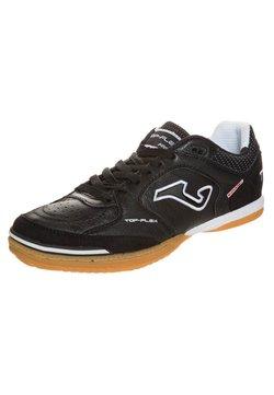Joma - TOP FLEX SALA 5 - Indoor football boots - black/white