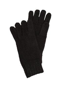 s.Oliver - ORNÉS DE STRASS - Fingerhandschuh - black
