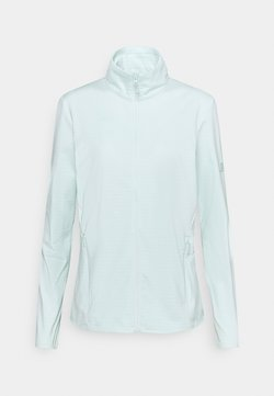Salomon - OUTRACK FULL ZIP MIDLAYER - Fleecejacke - opal blue