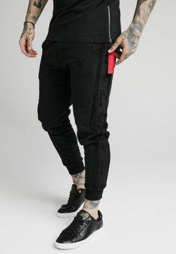 SIKSILK - CUFF PANTS - Jogginghose - black