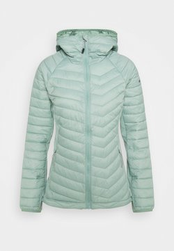 Columbia - POWDER LITE LIGHT HOODED JACKET - Outdoorjacke - aqua tone