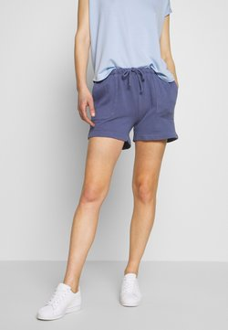 Marc O'Polo - ATTACHED POCKETS - Shorts - silent sea