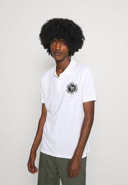 PS Paul Smith - EXCLUSIVE ZEBRA PRINT - Poloshirt - white