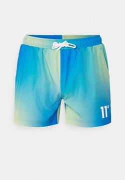 11 DEGREES - SUN BURST SHORTS - Shorts - blue radiance / avocado green