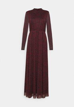 Anna Field - Maxiklänning - black/red