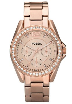 Fossil - RILEY - Montre - rosegold-coloured