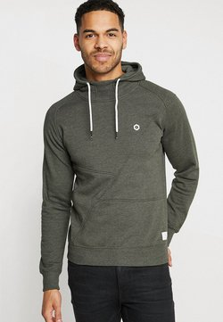 Jack & Jones - JCOPINN HOOD REGULAR FIT - Kapuzenpullover - rosin melange