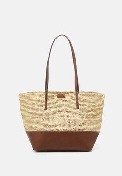 Marc O'Polo - LAURI - Shopping bag - maroon brown