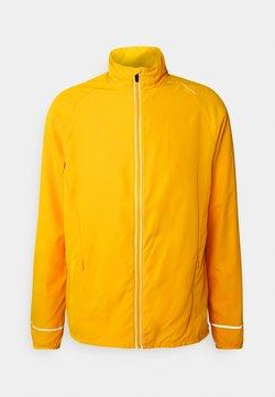 Endurance - LESSEND JACKET - Chaqueta de deporte - dark yellow