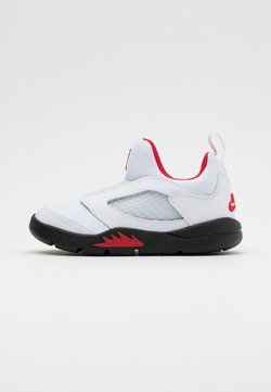 Jordan - 5 RETRO LITTLE FLEX - Zapatillas de baloncesto - white/university red/black