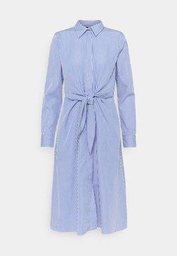 Lauren Ralph Lauren - Blusenkleid - blue/white