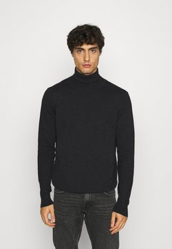 INDICODE JEANS - BURNS - Sweter - charcoal mix