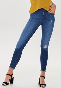ONLY - MID ANKLE RAW - Jeans Skinny Fit - dark blue