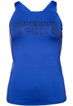 Superdry - Funktionsshirt - electric blue