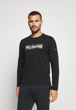 Columbia - LOOKOUT POINT GRAPHIC TEE - Camiseta de manga larga - black