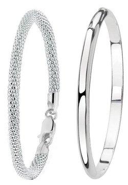 Lucardi - SET - Armband - zilver