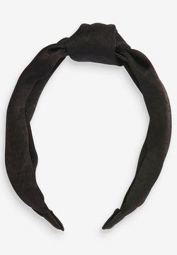 Next - SATIN STRUCTURED - Haar-Styling-Accessoires - black