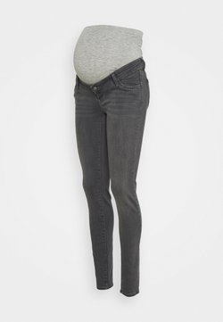 MAMALICIOUS - MLOKLAHOMA - Jeans Slim Fit - dark grey denim