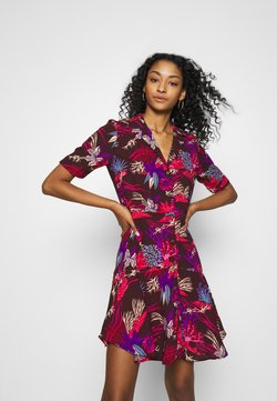 Scotch & Soda - PRINTED SUMMER SHIRT DRESS - Blousejurk - combo