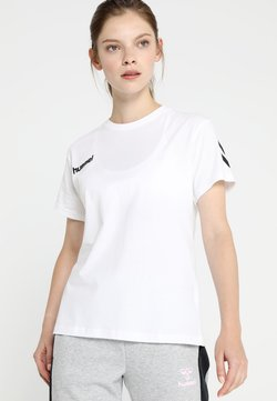 Hummel - GO WOMAN - Camiseta estampada - white