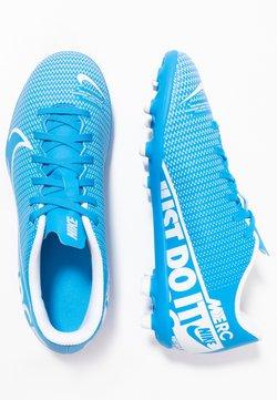 Nike Performance - MERCURIAL JR VAPOR 13 CLUB FG/MG UNISEX - Scarpe da calcetto con tacchetti - blue hero/white/obsidian